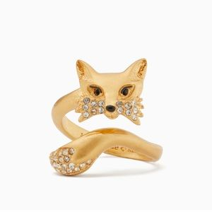 Kate Spade So Foxy Fox Wrap Ring
